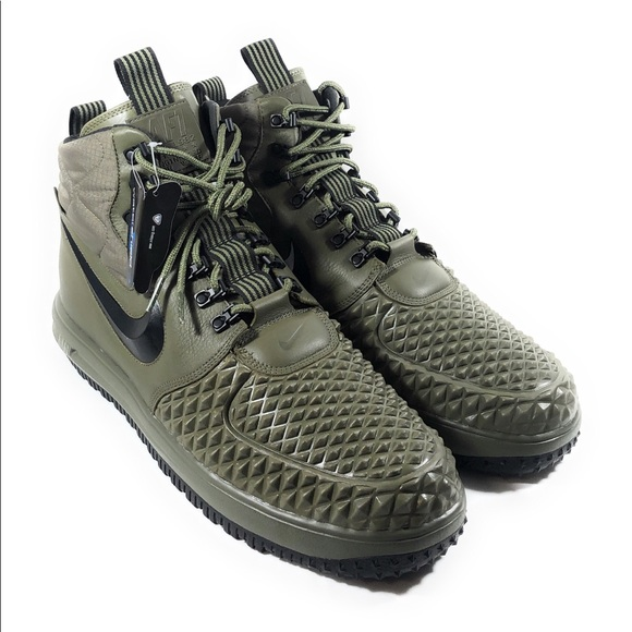 sports shoes 0d7e0 d53dc Nike Air Men s Lunar Force 1 Duckboot Olive Boots